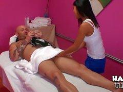Cindy Starfall hast Magie asiatischen Massage