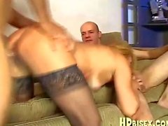 Mature Babe Screwed By A Couple Of Bisexual Guys