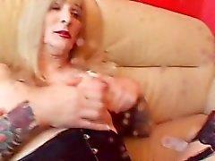 AMERICAN БЕЛОКУРО Tgirl Strokers одна - Картина 2