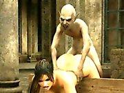 3D Alien мести - FreeFetishTVcom