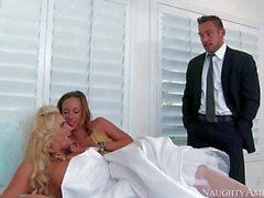 Венчание дня тройка с Jada Стивенса и Phoenix Marie