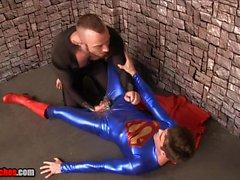 Formación del Superman JESSIE de COLTER LANZA de HART