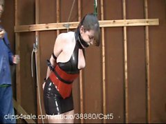Latex Shiny et Sexy à la Clips4Sale