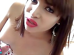 TS la filipina Chicas Shemale consigue difícilmente jodido