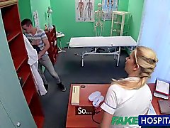FakeHospital Caught ja antaa hoitajan creampie