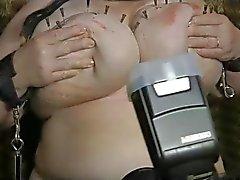 6-Aug-2014: 2nd Heavy Duty Tit Torture - Part 3