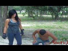 Now Its A Fight - Mikaela vs Barack - shefights