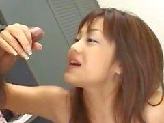 Titjob fille japonaise et de éjac