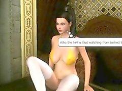 3d Parejas Transexuales cómicas los eachothers handjob ghetto de