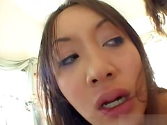 Katsumi is an Oriental sex queen who specializes in deep throating impossibly large