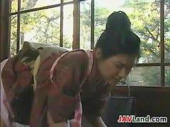 Les jeunes Femme de ménage Japonaise Et Sa ancien patron