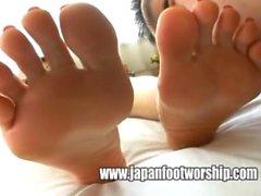 Fetisch Japanisch Lesbisch Fuß Japanische lesben