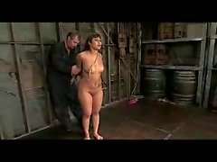 Tattooed Asian Girl Tied Up With Mask Whipped Tortured With Clips Pussy Stimulated With Vibrator By Master In The Dungeon