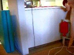 Mustaa PVC Hoitajan Väärinkäytökset Hänen Dollyn - pelaajaa Zoe Zane hänen Coo Coo