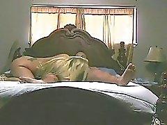 Blondes Ehefrau erwischt Betrügen