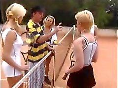 Mooie Duitse tennisbaan sex