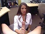Taylor st claire blowjob and public agent angel PawnShop Con