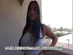 Alexa Loren tender amateur busty brunette