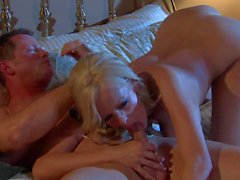 Stormy Daniels gets down and nasty in the bedroom