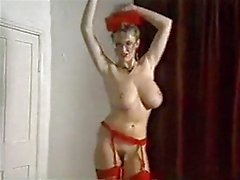 SPIN ME ROUND threatening-fearsome vintage 80's large meatballs dance striptease