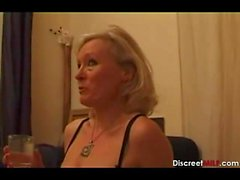 Casting Französische Blonde Reife Hausfrau