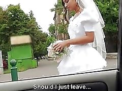 Dumped bride Amirah Adara outdoor fuck