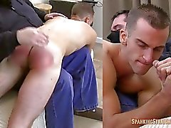 Nick's First Spanking