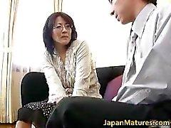 Reife echten asian Frau, die immer Teil3