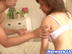 Busty japanese titty and pussyfucked hard