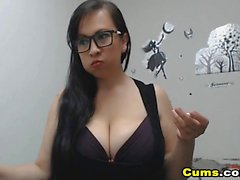 Sexy Busty Babe Fuck with Her Partner