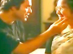 Indian aunt man kissing - hotmoza