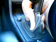 Mit Einems Volvo V70 Schaltsack Sex, dem Auto teenager