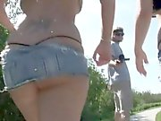 Random video exposing horny cute babes in naughty behaviour