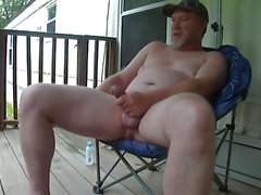 Verbal Redneck Papa Porche Jerk Off & Cum