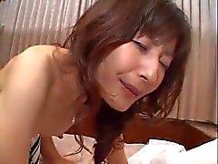 Prostituta japoneses Casal se ferra difíceis no asno