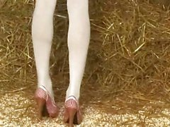 The hottest farm chick on earth