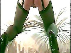 Em DVD 22 de CD de Stacey desgasta Negra Da cintura Cincher & Cums