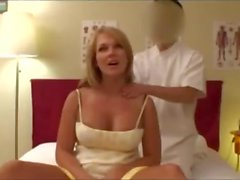 Hot Blonde Wife Fucked After Free Massage