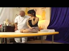 Asian Massage Therapist Gives Massage And BJ