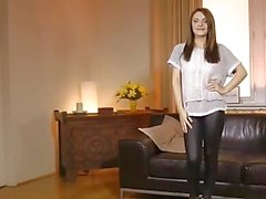 Beautiful european casting amateur fucked pov