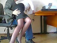 Den gömda kameran filmas en blygsam Sekreteraren
