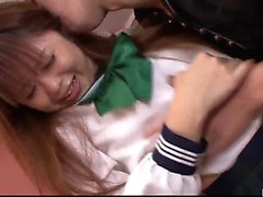 Noriko Kago schoolgirl porn in Japanese home video