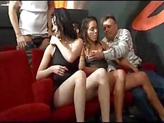 Lots of sucking and fucking going on in this private cinema