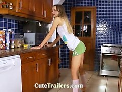 cucina elegante con ivana nella cucina