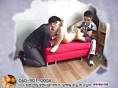 Chica porno Corea