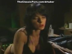 Aja, Tom Chapman in hardcore classic porn sex with lots of