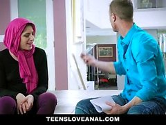 TeensLoveAnal - Teen religiosa anale scopata in Hijab