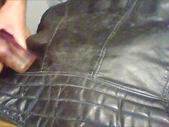 sperma Tappning för skinn jacka