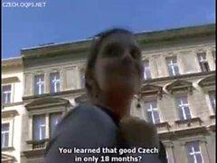 CZECH POV - Amateur in public