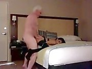 Cute petite from 666dates loves mature man